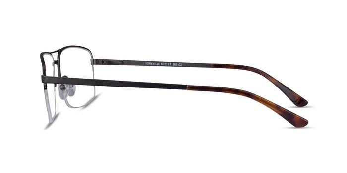 Yorkville Gummetal Metal Eyeglass Frames from EyeBuyDirect