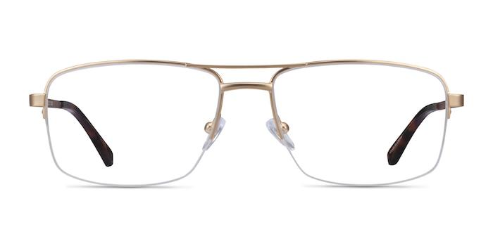 Yorkville Gold Metal Eyeglass Frames from EyeBuyDirect