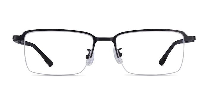 Nine Black Metal Eyeglass Frames from EyeBuyDirect