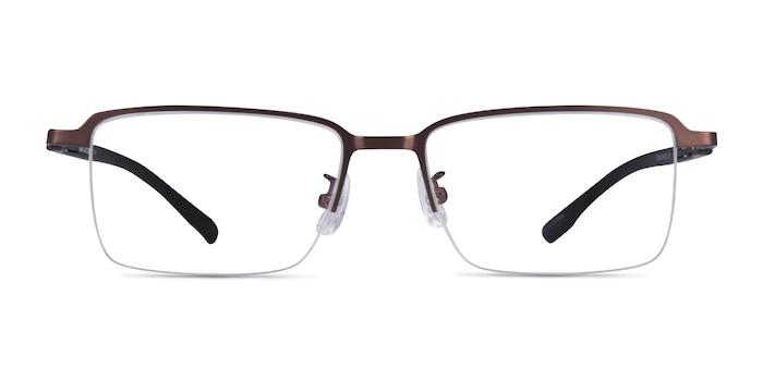 Nine Coffee Black Métal Montures de lunettes de vue d'EyeBuyDirect