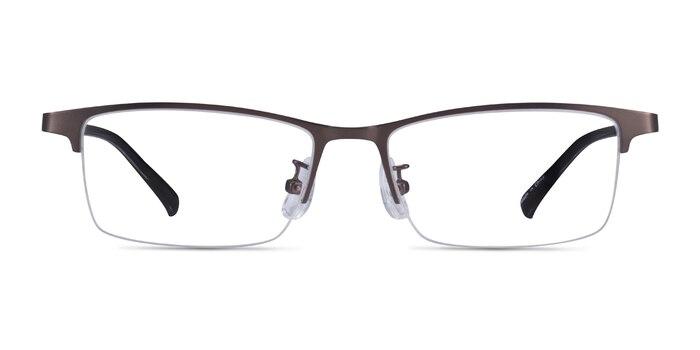 Cadel Gunmetal Metal Eyeglass Frames from EyeBuyDirect