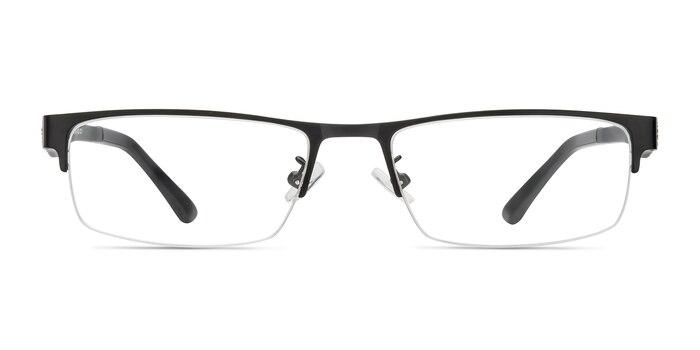 Beau Noir Plastic-metal Montures de Lunette de vue d'EyeBuyDirect