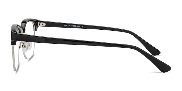 Genbu  Black  Acetate-metal Eyeglass Frames from EyeBuyDirect