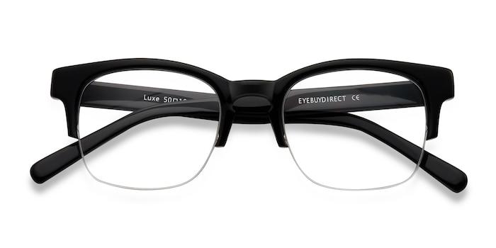 Black Luxe -  Vintage Acetate Eyeglasses