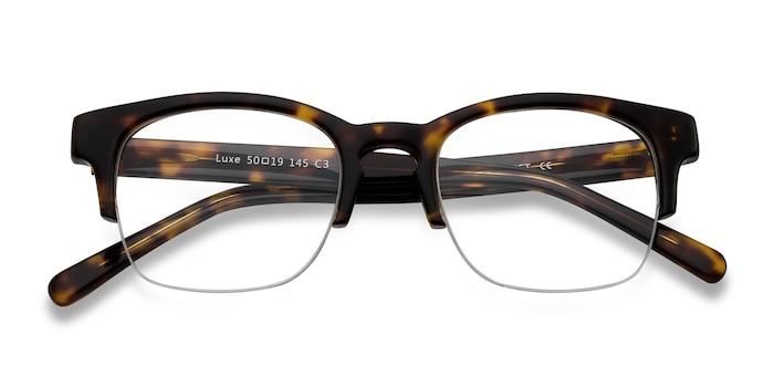 Tortoise Luxe -  Vintage Acetate Eyeglasses