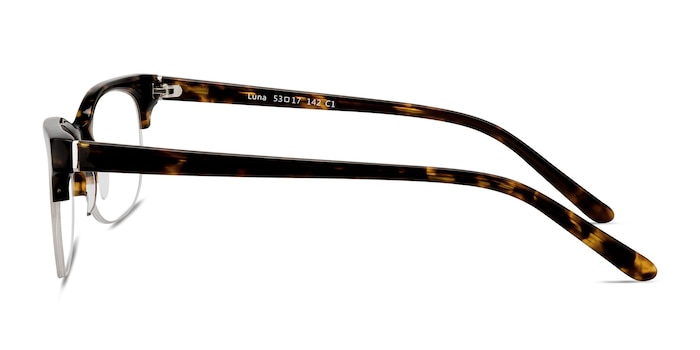 Luna Tortoise Acetate Eyeglass Frames from EyeBuyDirect