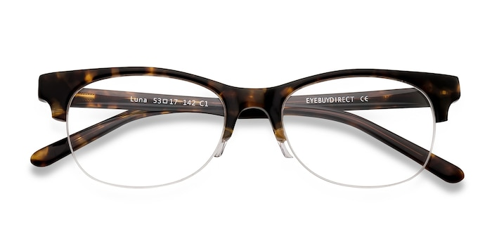 Tortoise Luna -  Vintage Acetate Eyeglasses