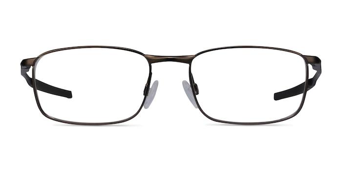 Oakley Barrelhouse Pewter Metal Eyeglass Frames from EyeBuyDirect