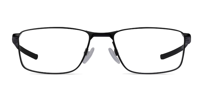 Oakley Socket 5.0 Satin Black & Gray Metal Eyeglass Frames from EyeBuyDirect