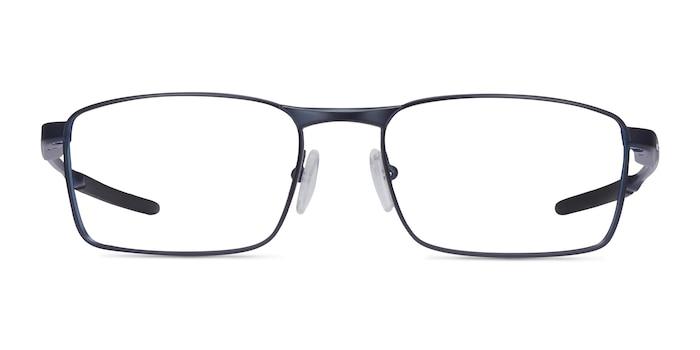 Oakley Fuller Matte Midnight Metal Eyeglass Frames from EyeBuyDirect