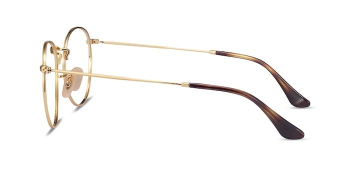 Ray-Ban RB3447V Gold Metal Eyeglass Frames from EyeBuyDirect