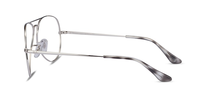 Ray-Ban RB6489 Silver Metal Eyeglass Frames from EyeBuyDirect