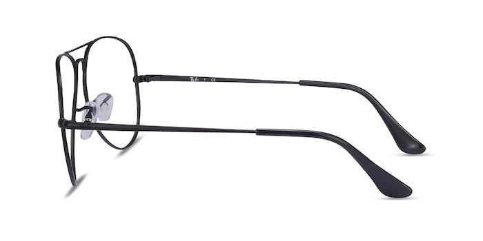 Ray-Ban RB6489 Black Metal Eyeglass Frames from EyeBuyDirect