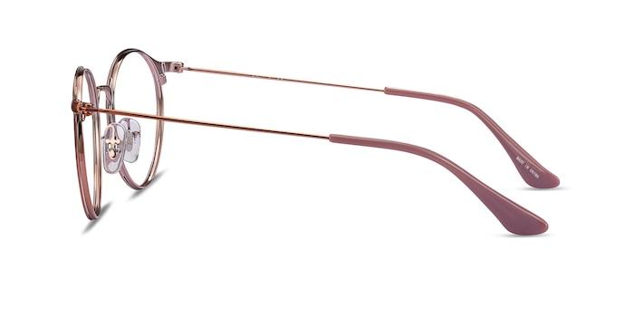 Ray-Ban RB6378 Light Brown Metal Eyeglass Frames from EyeBuyDirect