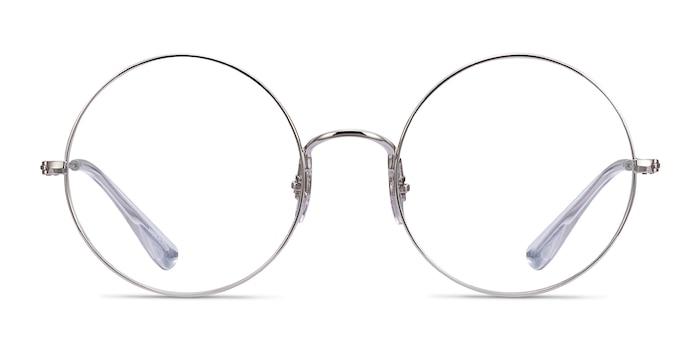 Ray-Ban RB6392 Silver Metal Eyeglass Frames from EyeBuyDirect