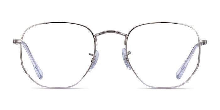 Ray-Ban RB6448 Silver Metal Eyeglass Frames from EyeBuyDirect