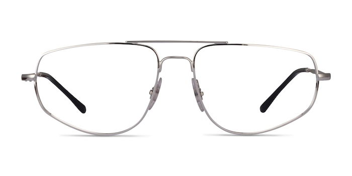 Ray-Ban RB6455 Silver Metal Eyeglass Frames from EyeBuyDirect