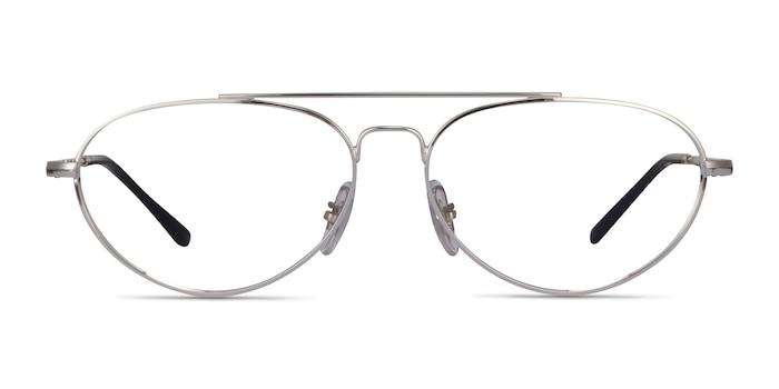 Ray-Ban RB6454 Silver Metal Eyeglass Frames from EyeBuyDirect