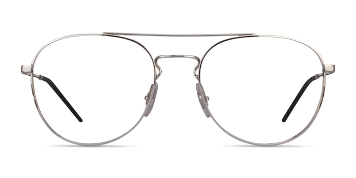 Ray-Ban RB6414 Silver Metal Eyeglass Frames from EyeBuyDirect