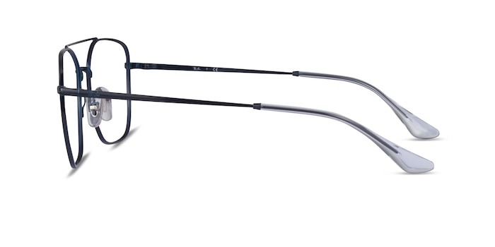 Ray-Ban RB6450 Navy Metal Eyeglass Frames from EyeBuyDirect