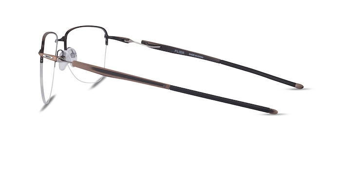 Oakley Plier Bronze Titanium Eyeglass Frames from EyeBuyDirect
