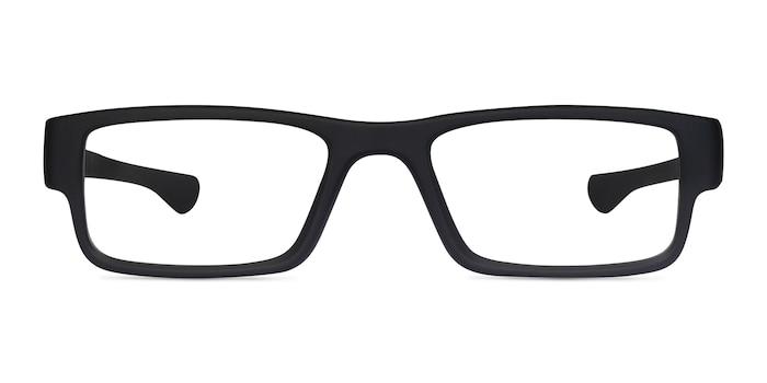 Oakley Airdrop Satin Black Plastic Eyeglass Frames from EyeBuyDirect