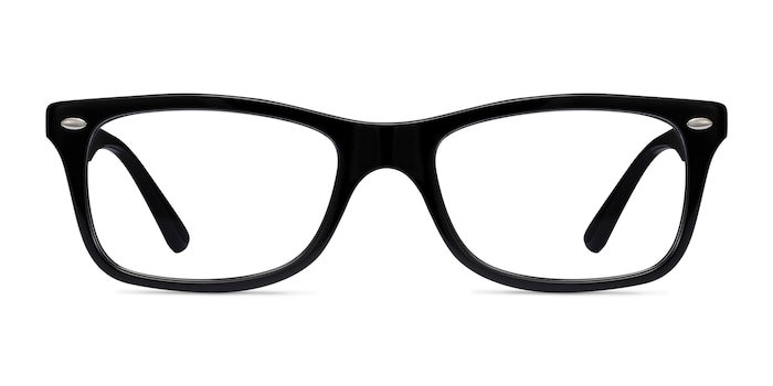 Ray-Ban RB5228 Black Acetate Eyeglass Frames from EyeBuyDirect