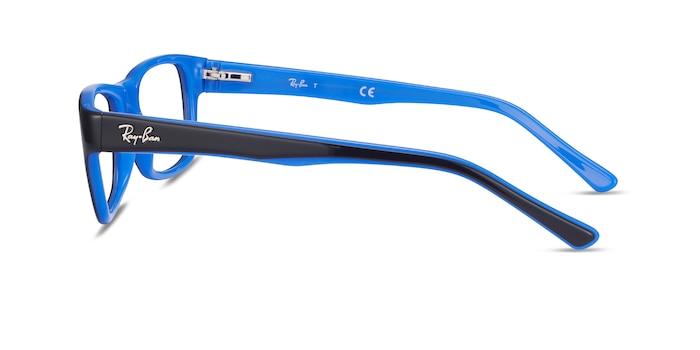 Ray-Ban RB5268 Black Acetate Eyeglass Frames from EyeBuyDirect