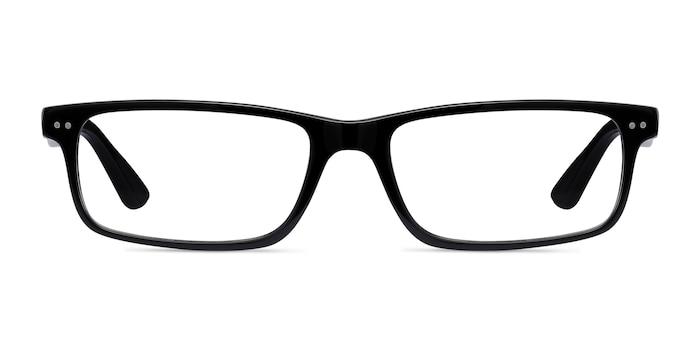 Ray-Ban RB5277 Black Acetate Eyeglass Frames from EyeBuyDirect