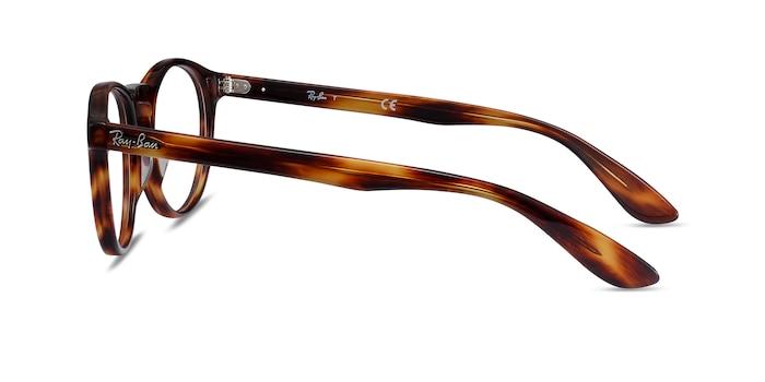 Ray-Ban RB5283 Warm Tortoise Acetate Eyeglass Frames from EyeBuyDirect
