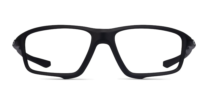 Oakley Crosslink Zero Satin Black Plastic Eyeglass Frames from EyeBuyDirect