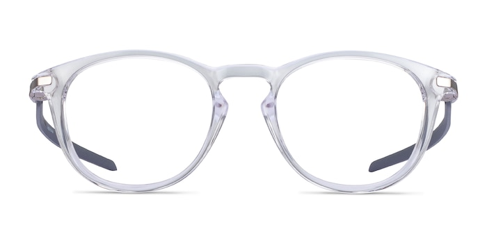 Oakley Pitchman R Carbon Clear Gray Plastic Eyeglass Frames from EyeBuyDirect