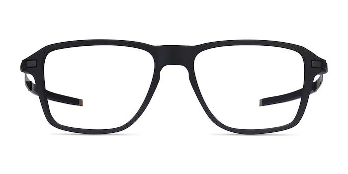 Oakley Wheel House Satin Black Plastic Eyeglass Frames from EyeBuyDirect