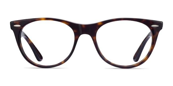 Ray-Ban RB2185V Tortoise Acetate Eyeglass Frames from EyeBuyDirect