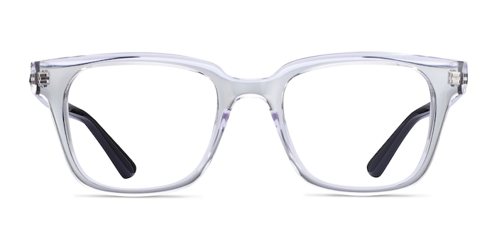 Ray-Ban RB4323V Clear Plastic Eyeglass Frames from EyeBuyDirect