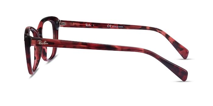 Ray-Ban RB5366 Pink Tortoise Acetate Eyeglass Frames from EyeBuyDirect