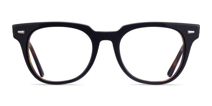 Ray-Ban Meteor Black Tortoise Acetate Eyeglass Frames from EyeBuyDirect