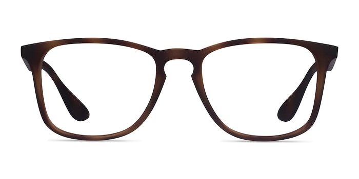 Ray-Ban RB7074 Tortoise Plastic Eyeglass Frames from EyeBuyDirect