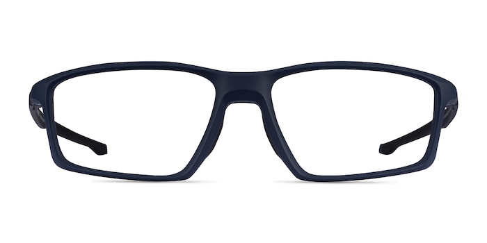 Oakley Chamber Universe Blue Plastic Eyeglass Frames from EyeBuyDirect