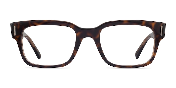 Ray-Ban Jeffrey Tortoise Acetate Eyeglass Frames from EyeBuyDirect