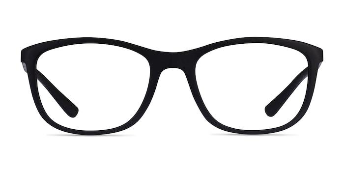 Ray-Ban RB7169 Matte Black Plastic Eyeglass Frames from EyeBuyDirect
