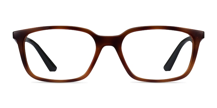 Ray-Ban RB7176 Tortoise Plastic Eyeglass Frames from EyeBuyDirect