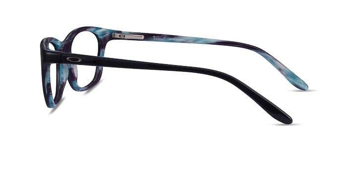 Oakley Taunt Purple Marble Acetate Eyeglass Frames from EyeBuyDirect
