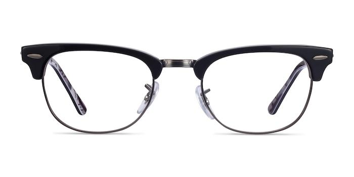 Ray-Ban RB5154 Black Multicolor Acetate-metal Eyeglass Frames from EyeBuyDirect