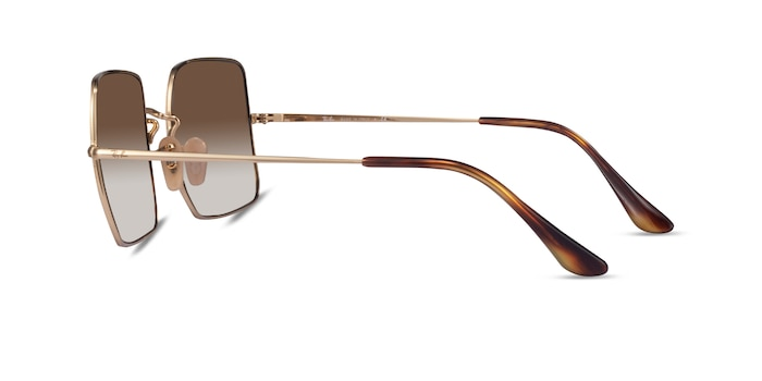 Ray-Ban RB1971 Gold Metal Sunglass Frames from EyeBuyDirect