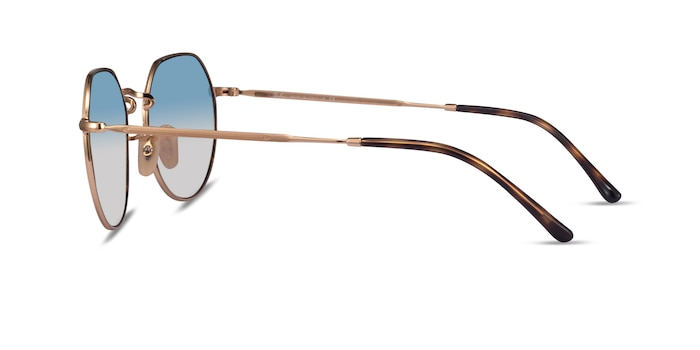Ray-Ban RB3565 Jack Gold Metal Sunglass Frames from EyeBuyDirect