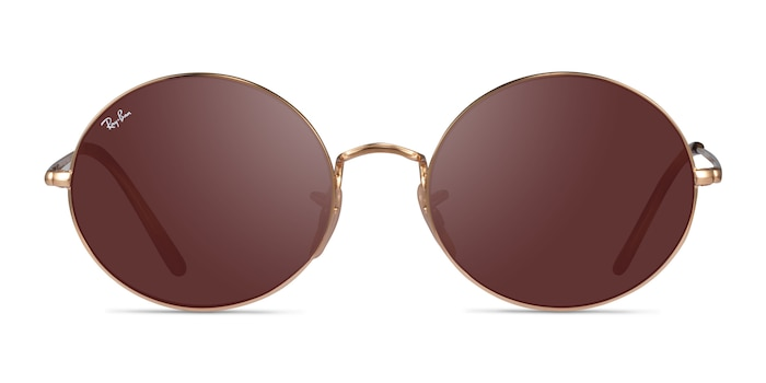 Ray-Ban RB1970 Gold Metal Sunglass Frames from EyeBuyDirect