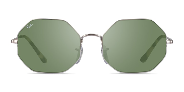 Ray-Ban RB1972 Silver Metal Sunglass Frames from EyeBuyDirect