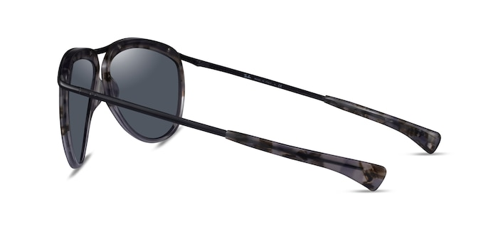 Ray-Ban RB2219 Havana Metal Sunglass Frames from EyeBuyDirect