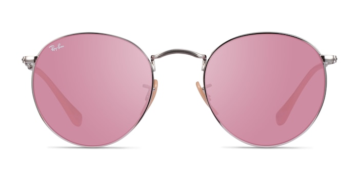 Ray-Ban RB3447 Silver Metal Sunglass Frames from EyeBuyDirect